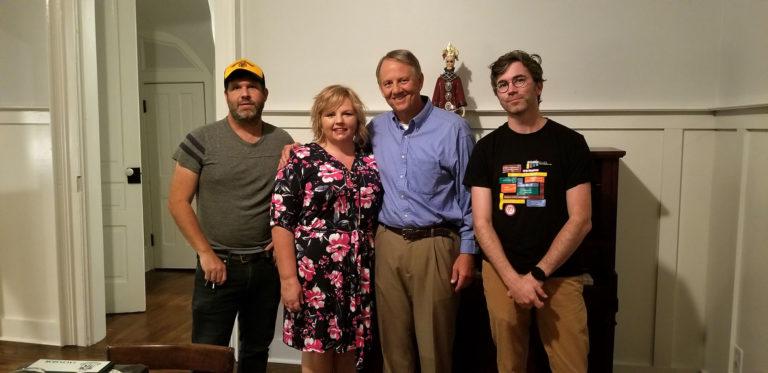 Neilson Hubbard, Francine Honey, Matt Steinhauer, Joshua Britt