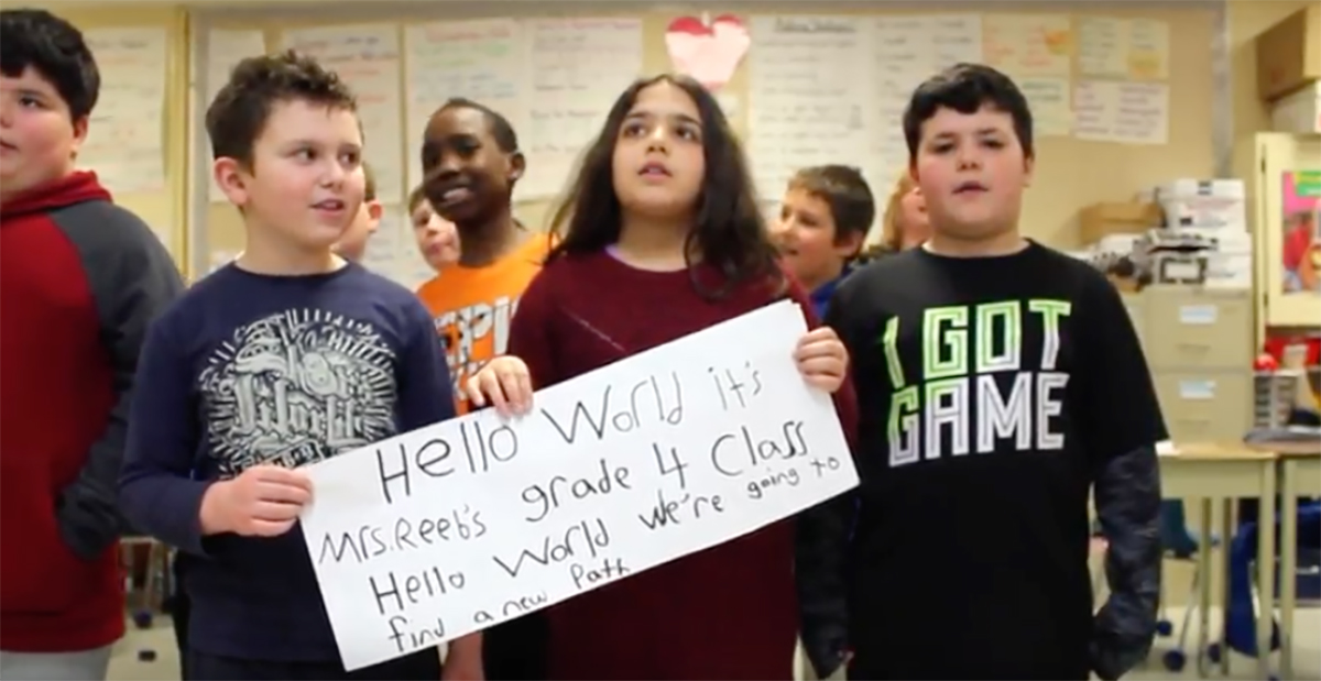 Hello World School Song Project