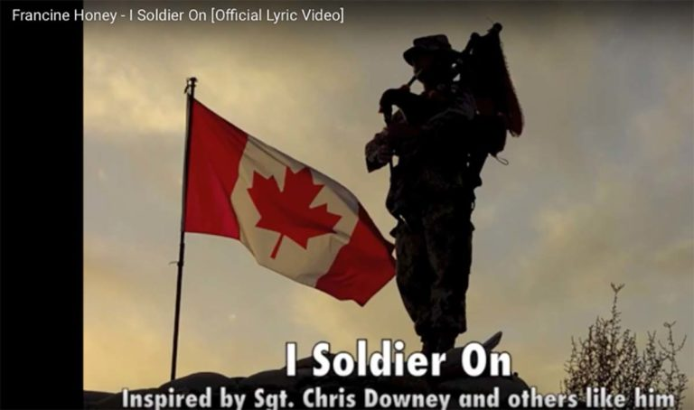 Image of Soldier On music song