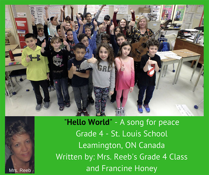 Hello World School music project, Leamington