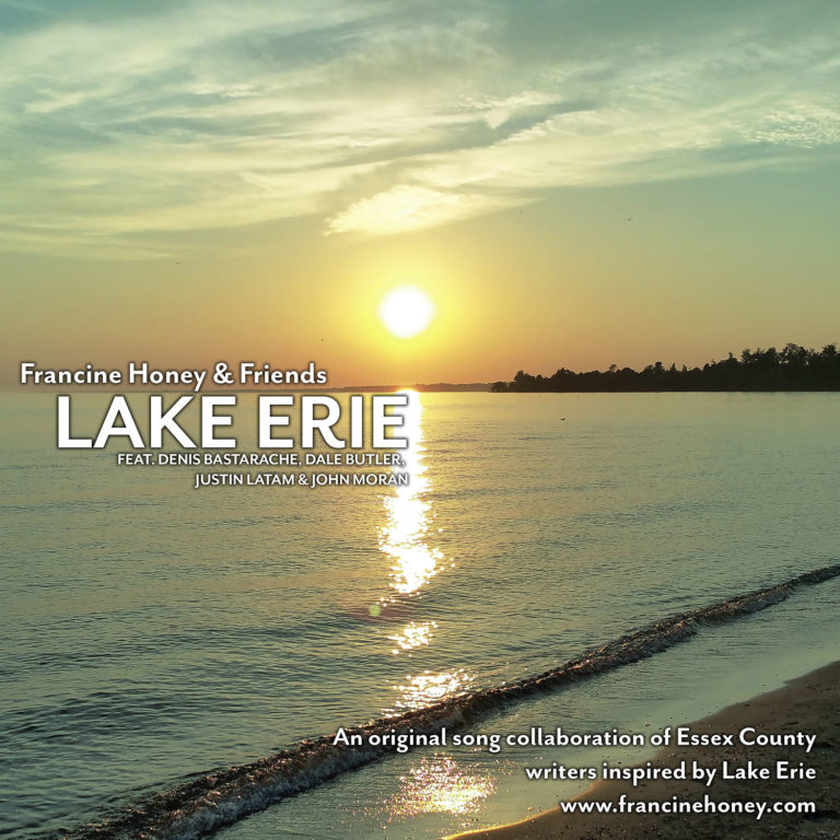 Lake Erie, CD cover, Francine Honey and friends