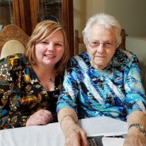 Avec ma tante Alice