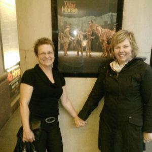 "Lorraine Leroux-Desforges et Francine - ""War Horse"""